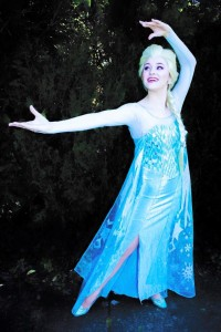Hire Elsa for a Princess Party